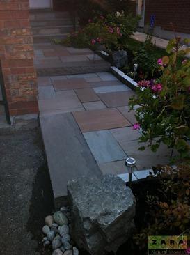 Zara Brown Paving Stones Dark Brown Outdoor Flooring Slabs