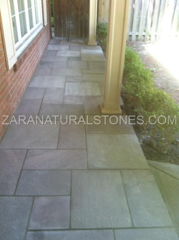 Zara Brown Wave Paving Stones Brown Sandstone Pavers Bolton