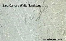 Zara Carrara White Patio Stones   Off White Square Cut Patio Pavers