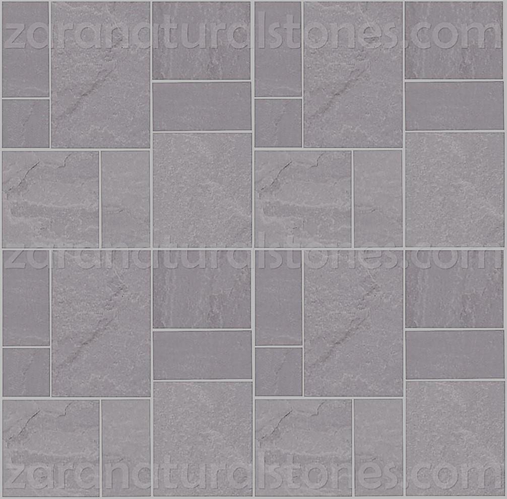 Dark Gray flagstone pavers Toronto Woodbridge Weston