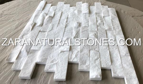 Dolomite White Bbq Facing Fireplace Veneer Stones
