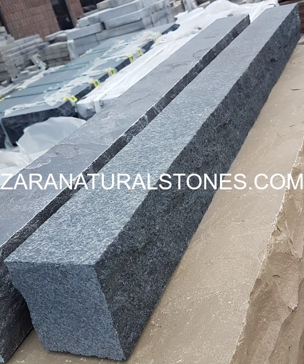 Jet Black granite curbs Toronto Woodbridge Bolton Pickering