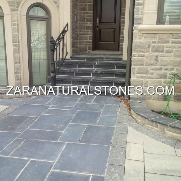 Kota Black Patio Stones Toronto Vaughan Woodbridge