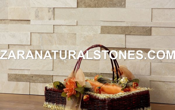 Coco 3d Wall Cladding Fireplace Stone Veneer Travertine