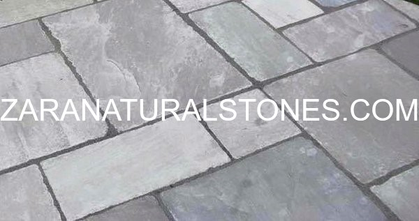 GREY TUMBLED PATIO STONES. Zara ...