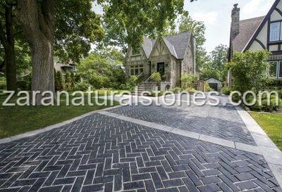 Unilock Driveway Stone Pavers Vaughan Bolton Kleinburg Caledon