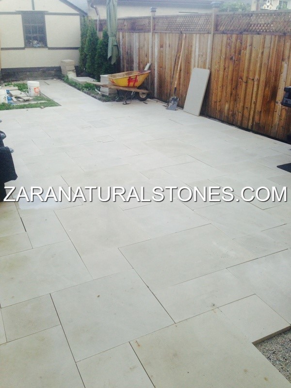 Delightful WHITE IVORY PATIO STONES. Zara ...